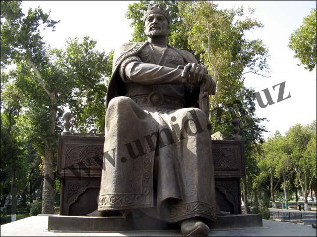 Амир Темур хайкали (14.10.2008)