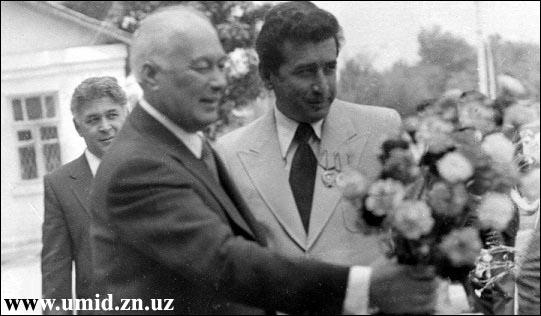 Шароф Рашидов 1983 йил